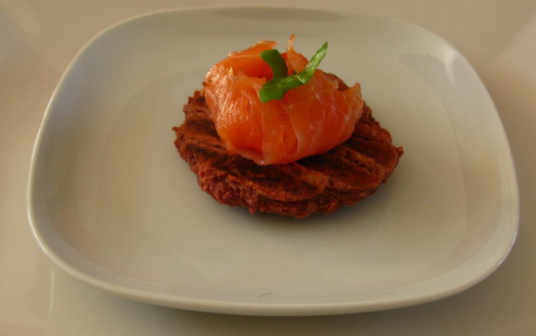 Vitastic | Hoe een bietenburger een 'bagel met zalm werd' | Blog | Recept | Power snack | Lunch | Diner
