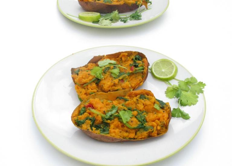 Vitastic | Recept | Zoete aardappel | Sweet & Spicey | Diner | Lunch | Linda Moser