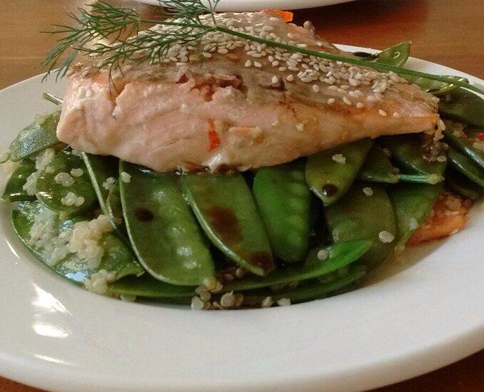 Vitastic | Zalm Tamari | Recept | Lunch | Diner | Linda Moser
