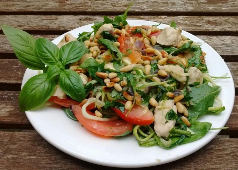 Vitastic | Help Esther Koken | Kip Pesto Courgette Pasta | Recept | Lunch | Diner