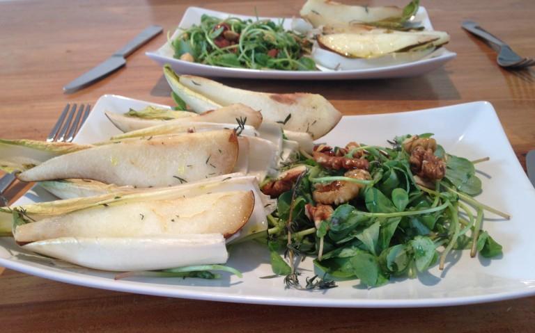 Vitastic | Gegrilde witlof met peer | 2 personen | Lunch | Diner