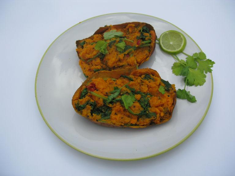 Vitastic | Recept | Zoete aardappel | Sweet & Spicey | Uit de oven | Lunch | Diner