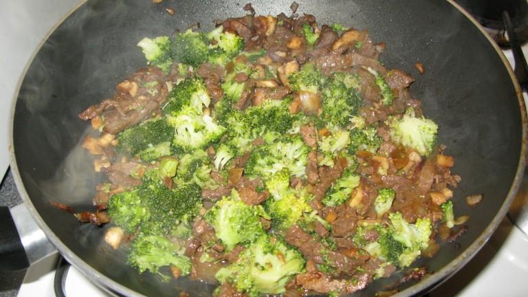 Vitastic - Beefreepjes met Shiitake en Broccoli