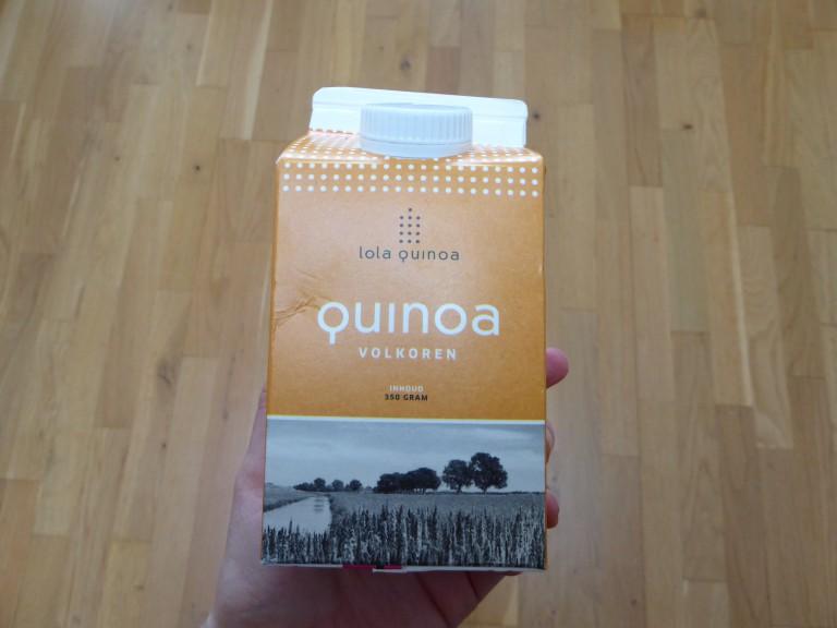 Lola Quinoa, met recept voor een quinoa groente omelet!