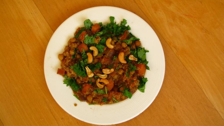 Recept: Thaise gele curry met zoete aardappel